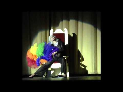 Julie Newmar at the Castro - Fan Dance