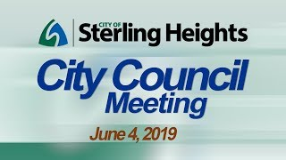 6-4-19 City Council Meeting