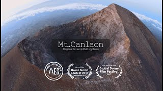 Kanlaon Volcano(Canlaon) Aerial shoot  -Philippines-