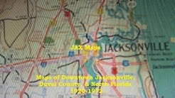 JAX Maps - Maps of Downtown Jacksonville, Duval County, & North Florida 1920-1972