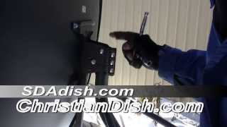 How to install the SDAdish satellite system - Free to air satellite - Galaxy 19 channels