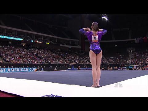 Aliya Mustafina - Floor Exercise - 2011 AT&T American Cup