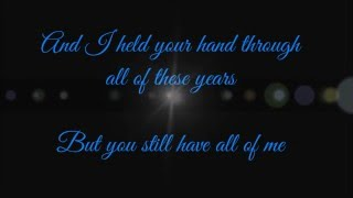 My Immortal- Evanescence lyrics