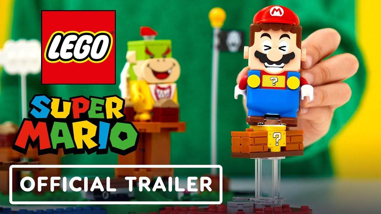 LEGO Super Mario establece el trailer de Reveal + vídeo