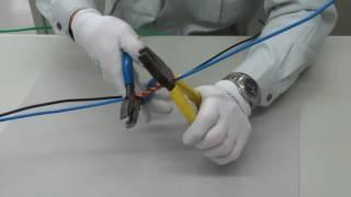 第2種電気工事士・技能 電線接続B形スリーブ