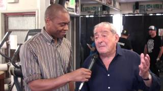 BOB ARUM: Don King is TRAITOR TO HIS RACE! & Dana White TRASH TALK & Manny Pacquiao vs GGG!