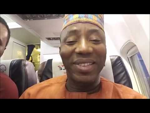 Omoyele Sowore Off to Abuja #takeitback #Sowore2019 #AAC