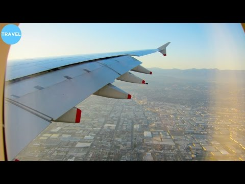 British Airways A380 Incredibly Beautiful Landing at Los Angeles International Airport!
