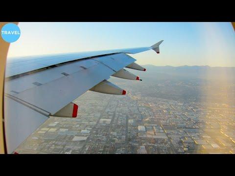 British Airways A380 Incredibly Beautiful Landing at Los Angeles International Airport!