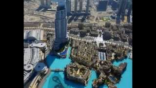 Burj Khalifa is a skyscraper in Dubai, United Arab Emirates.