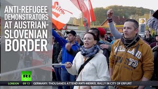 Armed to teeth: Austrians stocking up with guns to protect themselves from refugees