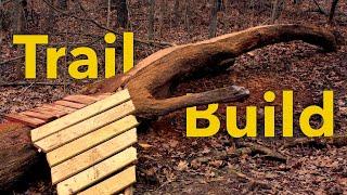 Trail Building #8 - Log Ride