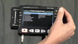 Sound Devices PIX 240 with RED Epic