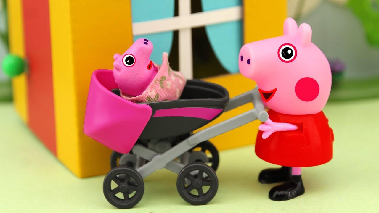 Cuidado del bebé, Peppa la Cerdita en español latino, capitulos nuevos de 2020, 4K