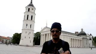 アキーラさん訪問!リトアニア・ヴィリニュス大聖堂1,Vilnius-Cathedral,Lytuania
