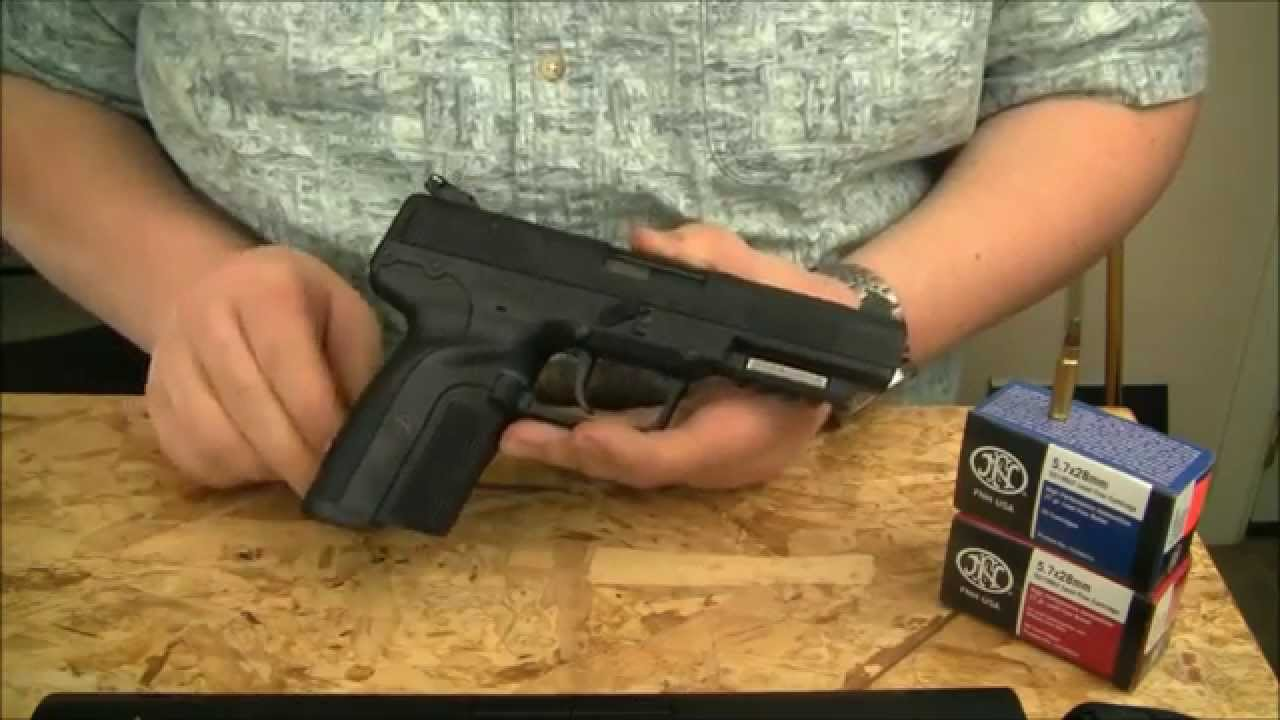 FN Five-seveN 5.7x28mm Full Review - YouTube