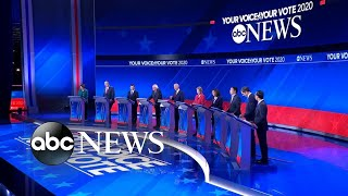 2020 candidates back on the campaign trail after debate