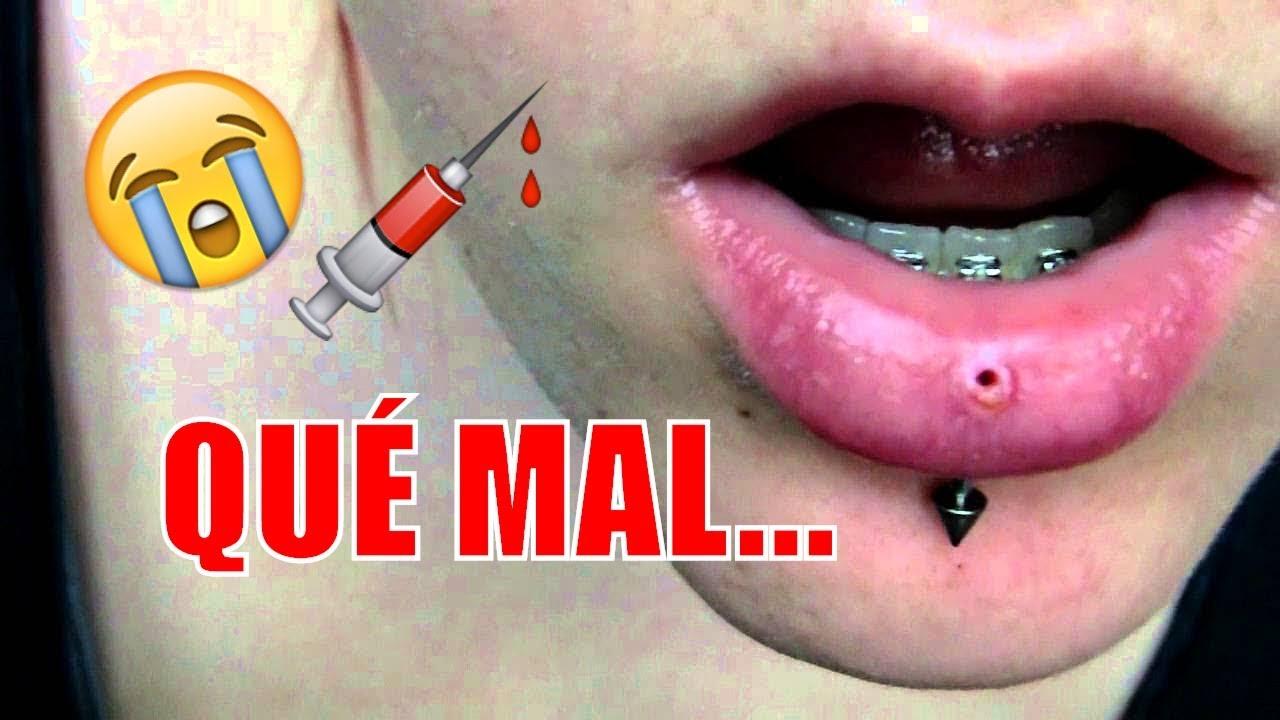 Cuanto tarda en curar un piercing en el labio