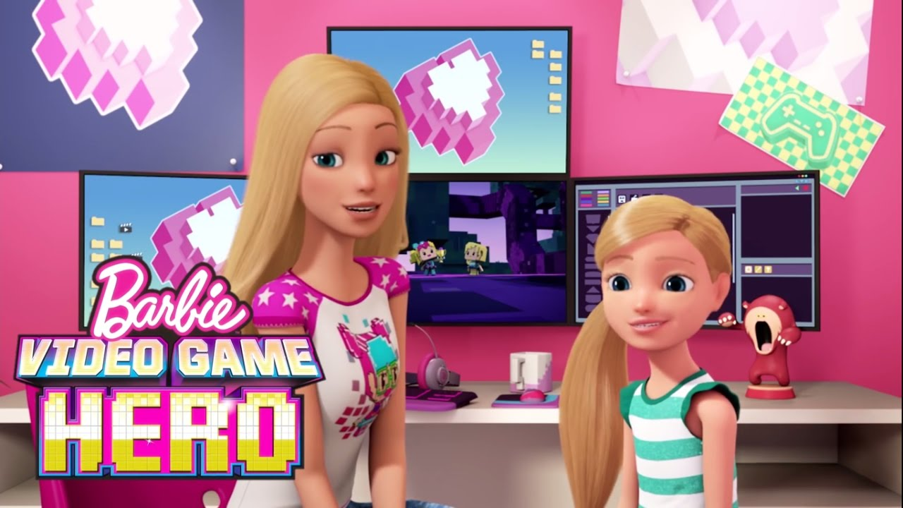 Bloopers And Outtakes Barbie Video Game Hero Youtube