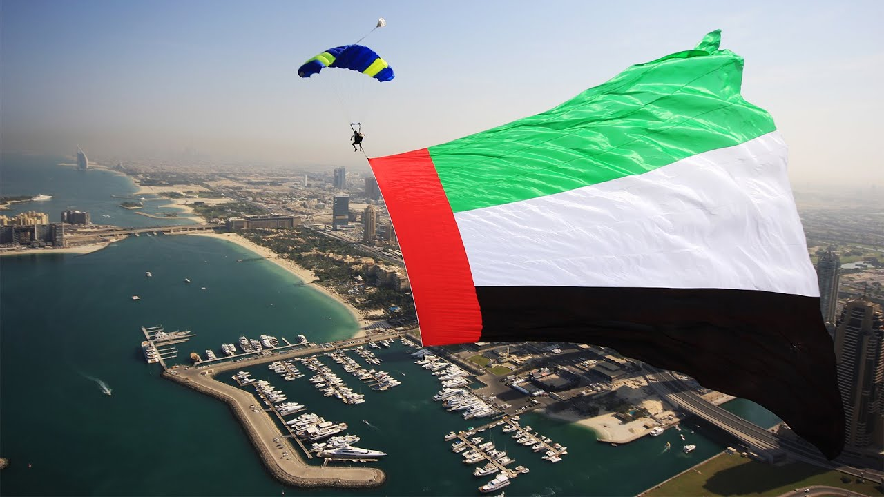 2015 Uae Flag Day Skydivedubai Youtube