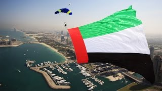 2015 UAE Flag Day | #SkydiveDubai