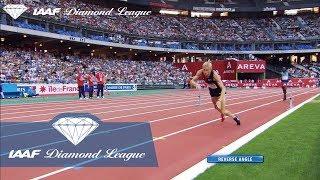 Evan Jager rewinds to his fall in Paris 2015 - IAAF Diamond League