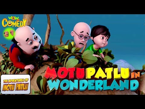 Motu Patlu In Wonderland | Movie | WowKidz...