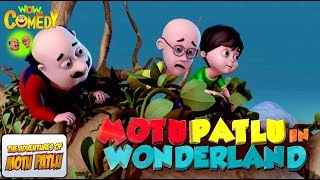 Motu Patlu İn Wonderland | Movie | Comedy WowKidz