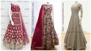 Latest Long Dress|| Stylish Net maxi ||2019 designs