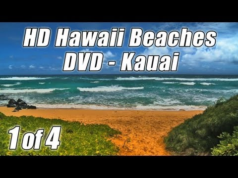 #1 RELAXING WAVE SOUNDS HD KAUAI Beach Video for Studying Sleep Reading Waves Playlist