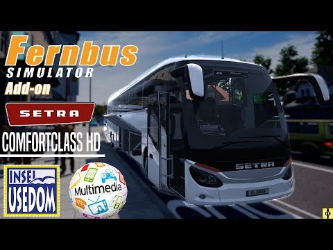 FERNBUS SIMULATOR [60 FPS] #032 - COMFORT CLASS HD | Multimedia-DLC | Usedom