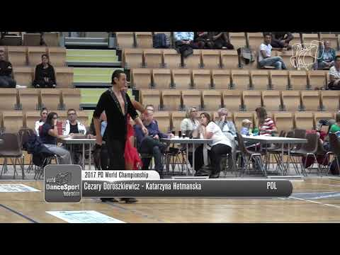 2017 WORLD PROFESSIONAL LATIN DANCESPORT CHAMPIONSHIP - CEZAR & KATERINA SAMBA FINAL