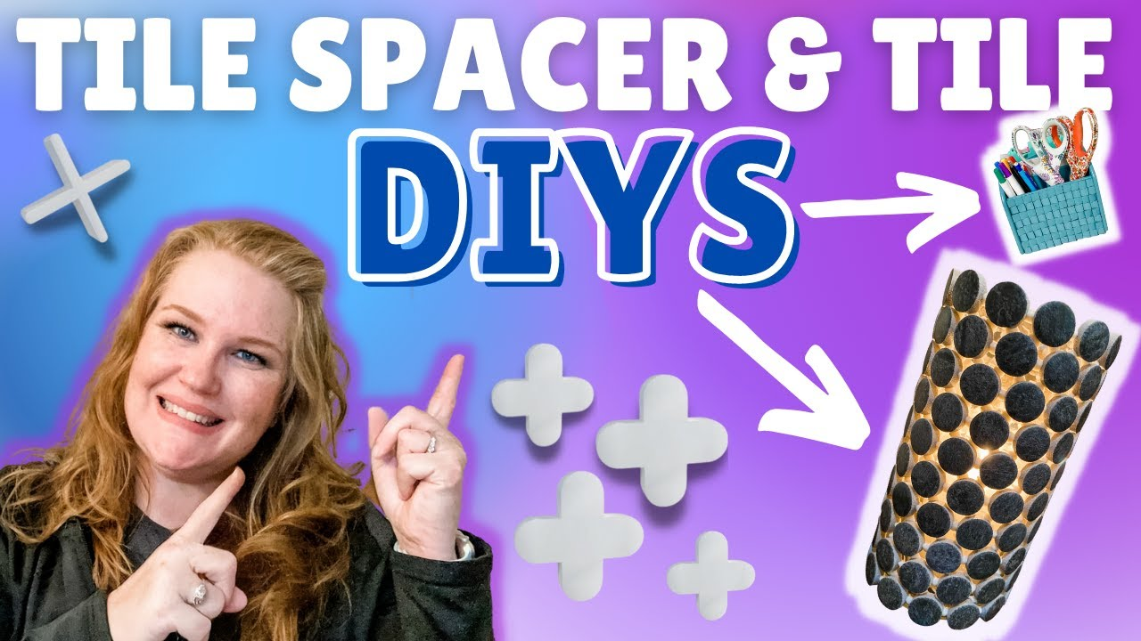 🌟 WOW! Check Out these TILE SPACER & TILE DIYS | Using RANDOM hardware store supplies to make DIYS!