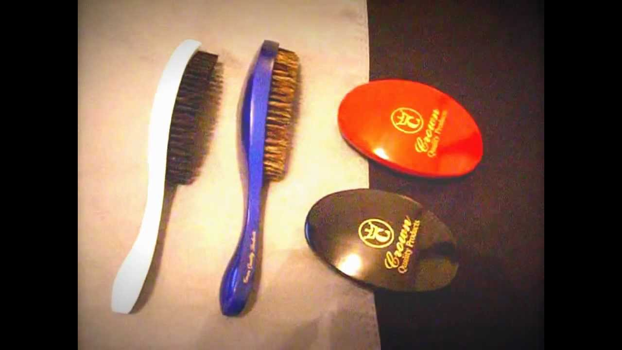 Crown Quality Products   360 Gold Wave Brushes!!
