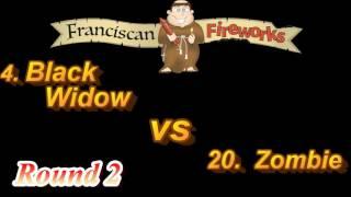 2016 Artillery Shell Bracket Showdown Sweet 16!