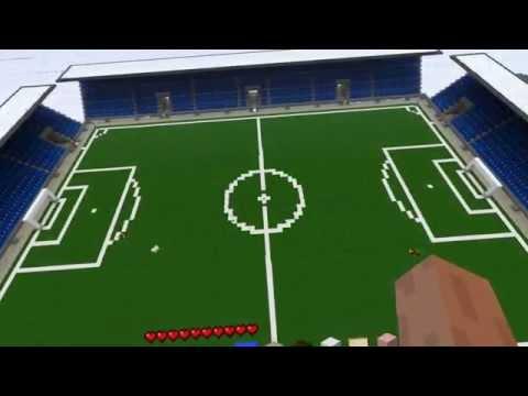 Minecraft Football Stadium  Download Link Unfinished