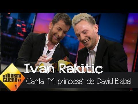 Ivan Rakitic conquista al público con 'Mi Princesa' de David Bisbal - El Hormiguero 3.0