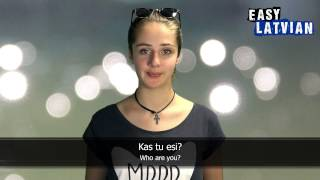 10 Phrases for introducing yourself in Latvian - Easy Latvian Basic Phrases (4)