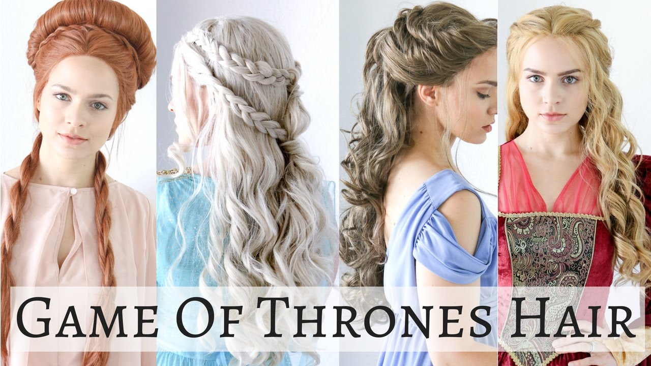 Iconic Game Of Thrones Hairstyles Hair Tutorial YouTube - Haircut girl game