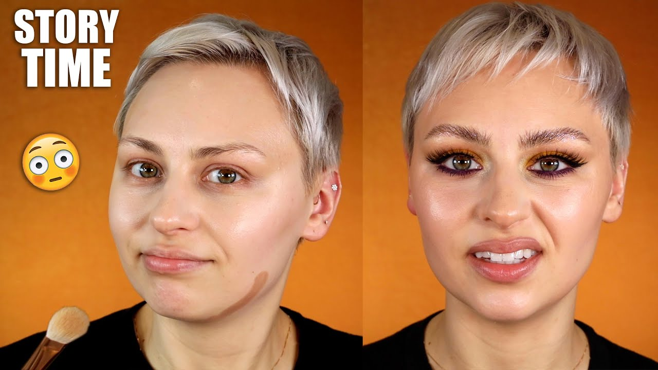 """GRWM + """"The worst day of my life"""" story....like DUDE"""