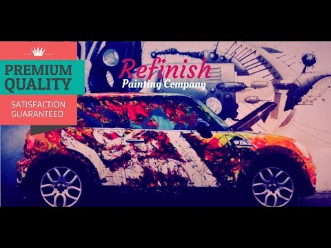 Best Automotive Paint Services in Trivandrum|Car Spray Paint|Refinish Painting Company