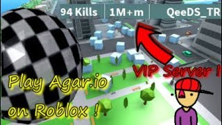 SI AGARIO USE 3D ! / I ATE ALL MAP 😂/ Roblox Boulder Simulator ! SERVEUR VIP GRATUIT