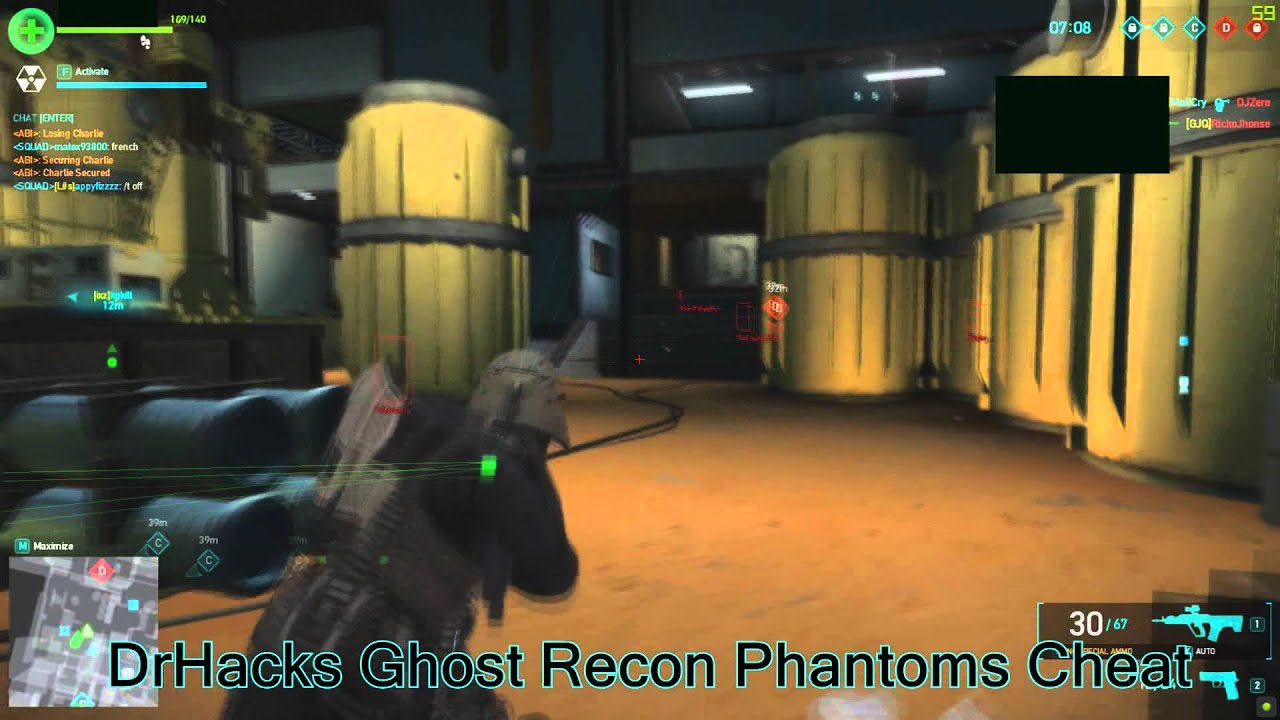 Ghost Recon phantoms Free weapons and Coins!!!!!!!