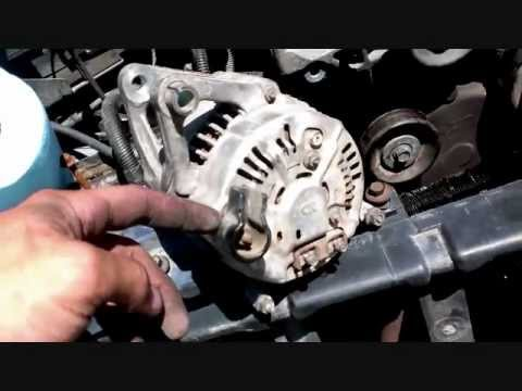 jeep grand cherokee alternator removal guide video