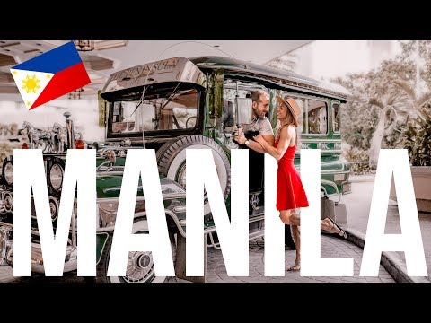 24 hours in Manila Philippines - Filipino food and markets