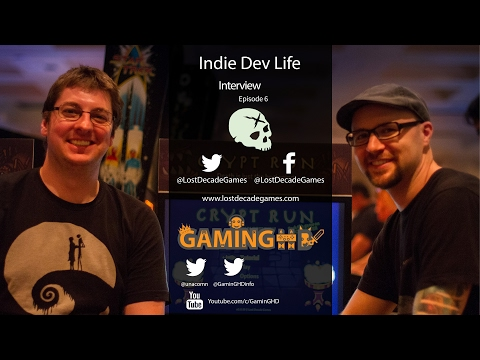 "Indie Dev Life: Matt Hackett ""Lost Decade Games"" - Developer of A Wizard's Lizard & Indie Game Sim"