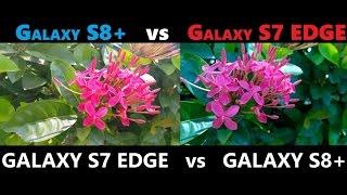 SAMSUNG GALAXY S8 vs GALAXY S7 EDGE REVIEW