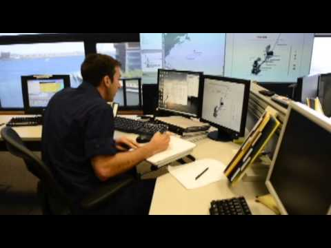 Coordinating the search for Cheeki Rafiki at Coast Guard Command Center