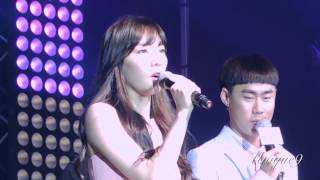 140410 [FANCAM] Taeyeon -Always here Project @Bing Fin meeting [Part3]