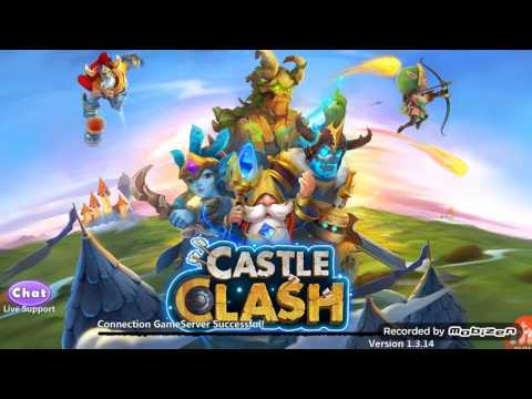 Castle Clash Secret Code! Special Legendary Hero Card And 300 Gems!